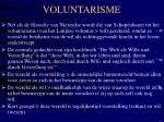 voluntarisme