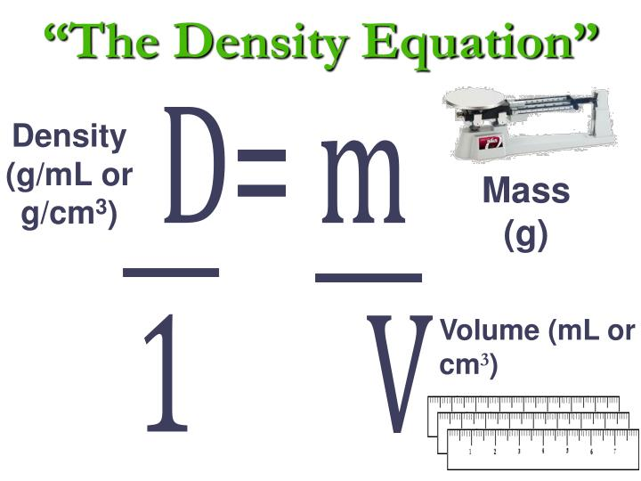 the density equation n.