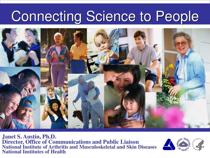 connecting science to people n.