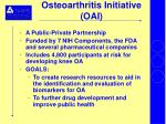 osteoarthritis initiative oai