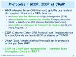 protocoles giop iiop et jrmp