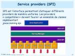 service providers spi