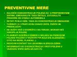 preventivne mere