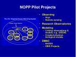 nopp pilot projects