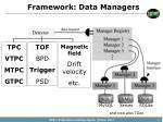 framework data managers