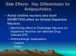 side effects key differentiator for antipsychotics1