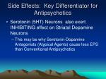 side effects key differentiator for antipsychotics2