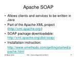 apache soap