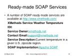 ready made soap services