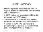 soap summary