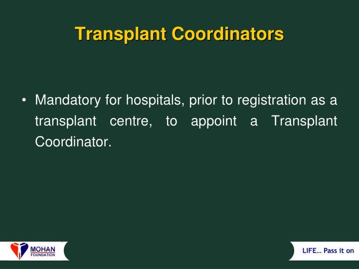 Transplant Coordinators