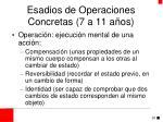 esadios de operaciones concretas 7 a 11 a os