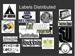 labels distributed