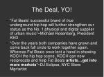 the deal yo