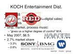 koch entertainment dist