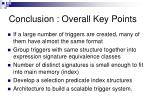conclusion overall key points