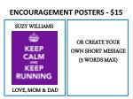 encouragement posters 151