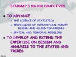 starmap s major objectives
