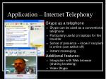 application internet telephony1