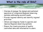 what is the role of ras
