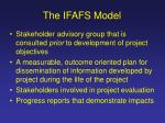 the ifafs model