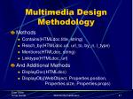 multimedia design methodology8