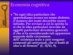 economia cognitiva