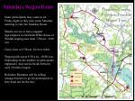saturdays wagon route