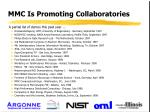 mmc is promoting collaboratories
