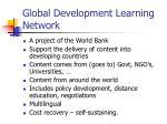 global development learning network