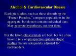 alcohol cardiovascular disease