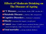 effects of moderate drinking on the diseases of ageing