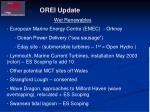 orei update