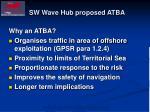 sw wave hub proposed atba1