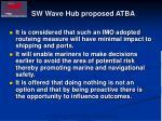 sw wave hub proposed atba2