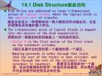 14 1 disk structure