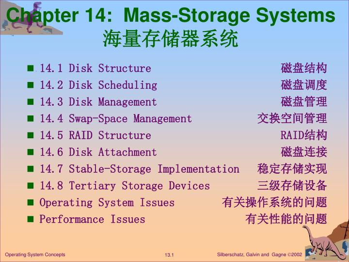 chapter 14 mass storage systems n.