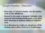 joseph priestley dissenter