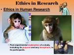 ethics in research1