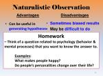 naturalistic observation1