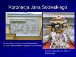 koronacja jana sobieskiego