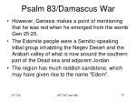 psalm 83 damascus war73