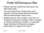 psalm 83 damascus war75
