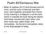 psalm 83 damascus war77