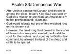 psalm 83 damascus war87
