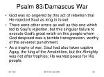 psalm 83 damascus war88