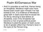 psalm 83 damascus war92