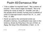 psalm 83 damascus war98