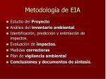 metodolog a de eia
