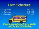 flex schedule
